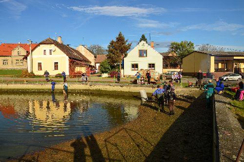 Výlov rybníka 26.10. 13