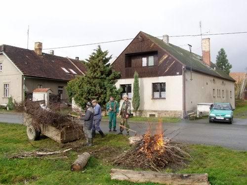 Výlov rybníka vBílově - foto 04